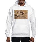 Cheetah On The Move Hooded Sweatshirt