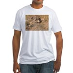 Cheetah On The Move Fitted T-Shirt