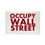 Occupy Wall Street Rectangle Magnet (10 pack)