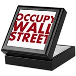 Occupy Wall Street Keepsake Box