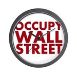 Occupy Wall Street Wall Clock