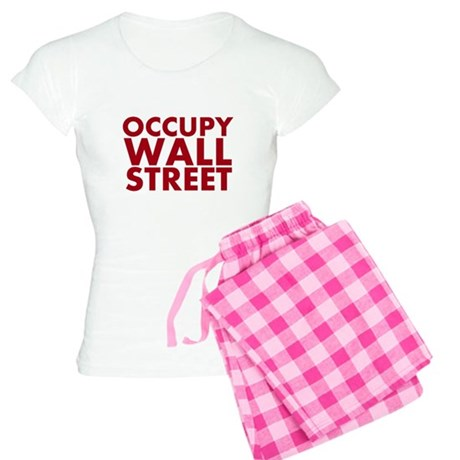 Occupy Wall Street Women's Light Pajamas