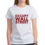 Occupy Wall Street Women's T-Shirt