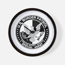 CloseThe US Border Patrol SpA Wall Clock