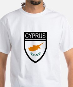 Cyprus Flag Patch Shirt