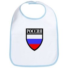 Russia (in Russian) Patch Bib