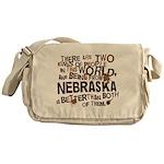 Nebraska (Funny) Gift Messenger Bag