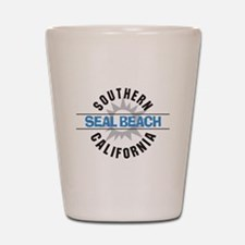 Seal Beach California Shot Glass