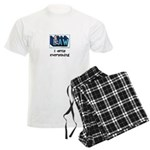 Law student's Men's Light Pajamas