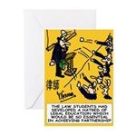 Law student's Greeting Cards (Pk of 10)