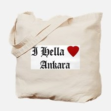 Hella Love Ankara Tote Bag