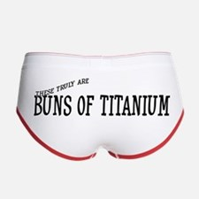 Women's Boy Brief for Buns of Titanium