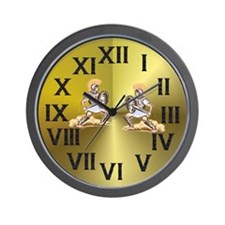 """Roman (gold background)"" Wall Clock"