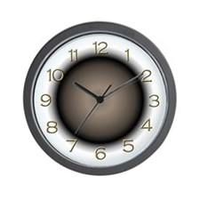 """Ecliptic"" Wall Clock"