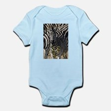Zebras Infant Bodysuit