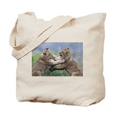 Sparta Cubs Playing Tote Bag