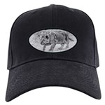 Lion Cub Stalking Black Cap