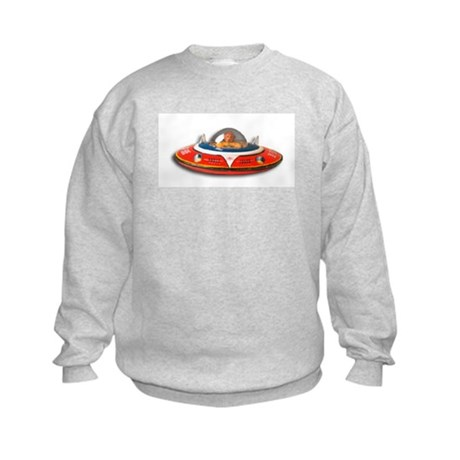 Space Man Kids Sweatshirt