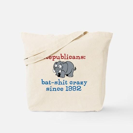 Bat-shit Crazy GOP Tote Bag