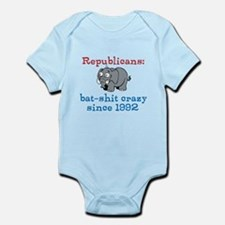 Bat-shit Crazy GOP Infant Bodysuit