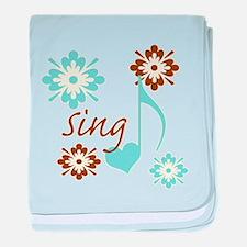 Sing baby blanket