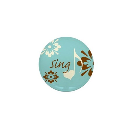 Sing Mini Button (100 pack)