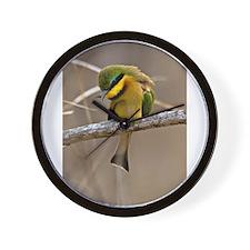 Little Bee Eater Wall Clock