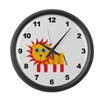 Lion Large Wall Clock