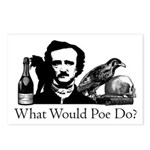What Would Poe Do? Postcards (Package of 8)