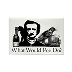What Would Poe Do? Rectangle Magnet (100 pack)
