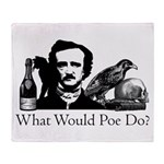 What Would Poe Do? Throw Blanket