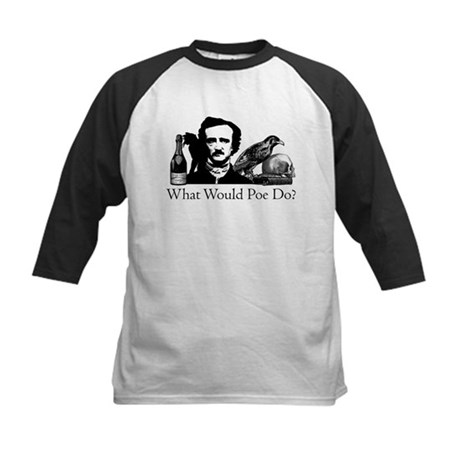 What Would Poe Do? Kids Baseball Jersey