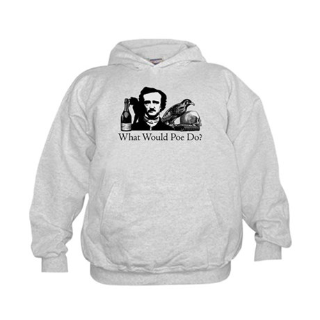 What Would Poe Do? Kids Hoodie