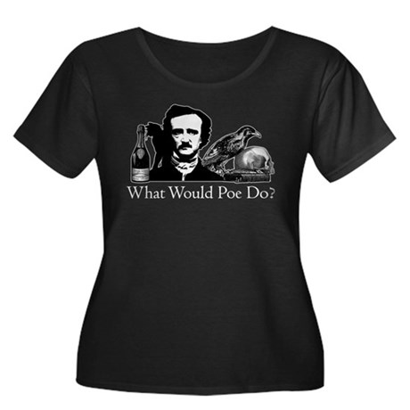 What Would Poe Do? Women's Plus Size Scoop Neck Da