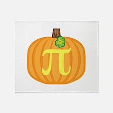 Pumpkin Pi Throw Blanket