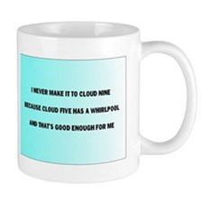 cloud nine Mugs