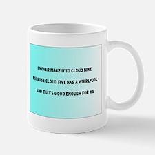 cloud nine Mugs