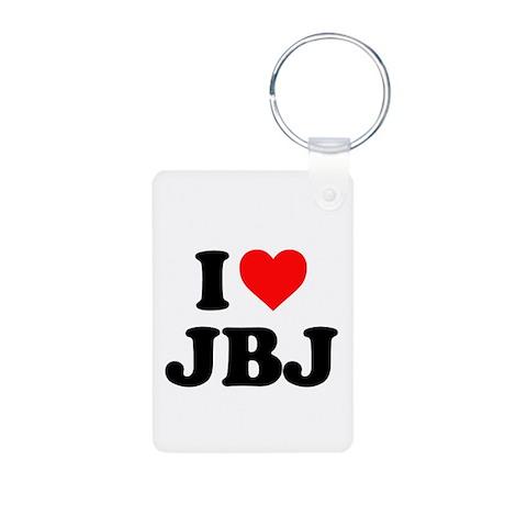 I LOVE JBJ HAVE A NICE DAY Aluminum Photo Keychain