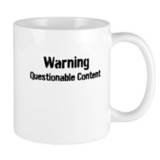 Warning: Questionable Content Mug