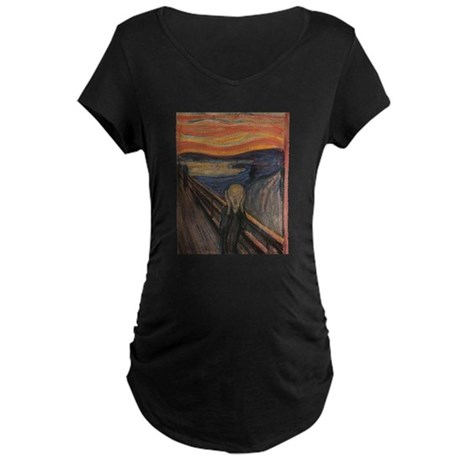 The Scream Maternity Dark T-Shirt