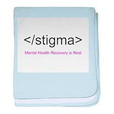 End Stigma HTML baby blanket
