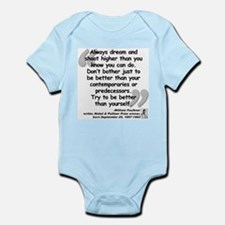 Faulkner Better Quote Infant Bodysuit