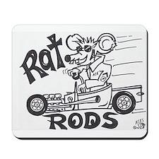 'Rat rod roadster' Mousepad