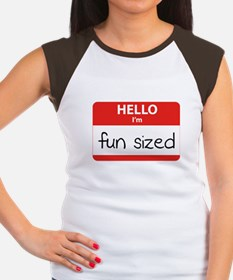 Hello I'm fun sized Women's Cap Sleeve T-Shirt