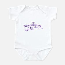 Narcolepsy Sucks Infant Creeper