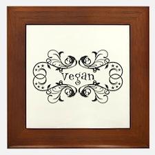 Vintage Vegan Framed Tile