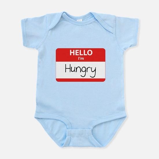Hello I'm Hungry Infant Bodysuit