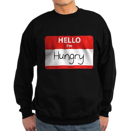 Hello I'm Hungry Sweatshirt (dark)