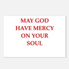 god Postcards (Package of 8)