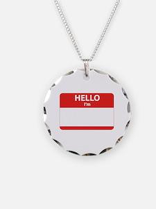 Hello I'm ... Necklace